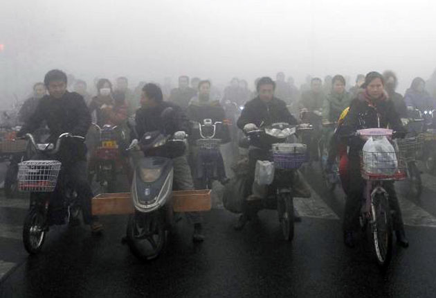 China's CCTV culture suffers as record high pollution and smog levels