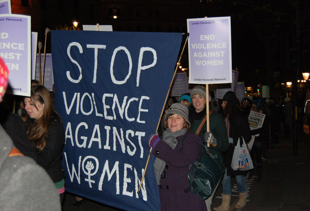 The UK'sReclaim the Night movement started in 1977, when police imposed a curfew on women in response to the Yorkshire Ripper murders(Fa