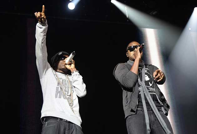Urban star Taio Cruz (pictured with Tinchy Stryder) has just topped the Billboard 100