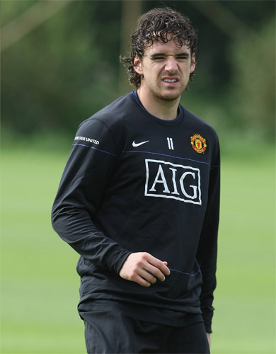 Hargreaves has been withdrawn from United's Champions League squad