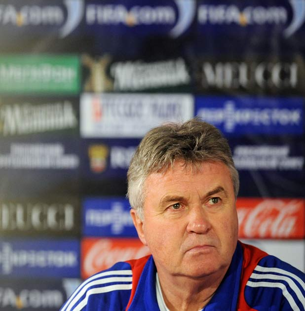 Guus Hiddink: The Dutchman's agent said Turkey 'would never allow Hiddink to do a double job and Guus would never consider walking out on them'