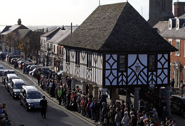 The Wiltshire town of Wootton Bassett