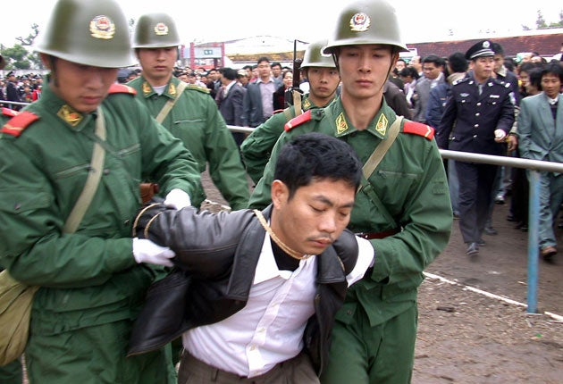 Image result for china execution