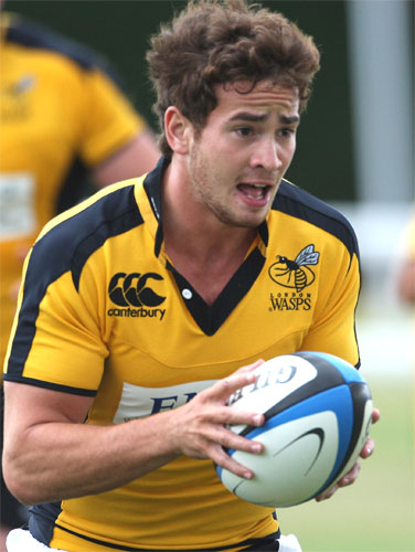 Media favourite Danny Cipriani 'has got to deal with the expectation,' says Tony Hanks, Wasps' director of rugby