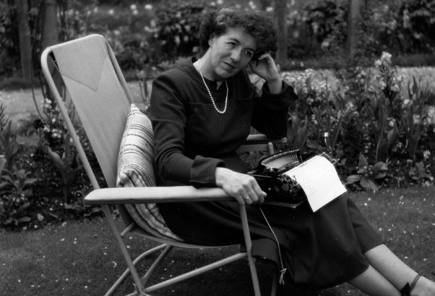 <p>Famous Five author Enid Blyton, pictured in 1949</p>