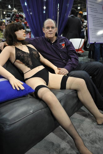 Worlds First Sex Robot Revealed At Porn Show