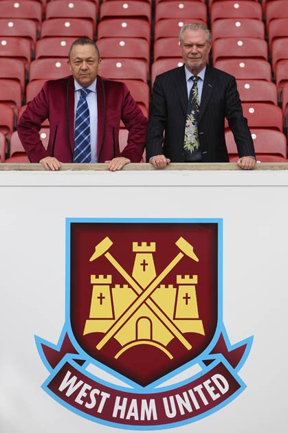 West Ham's owners announced staff would have to take a pay cut