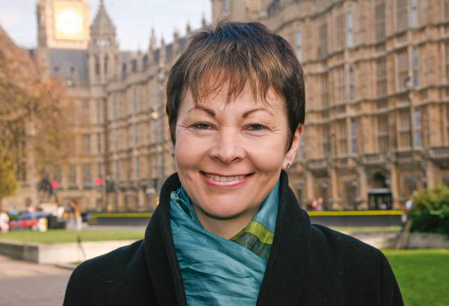 Caroline Lucas's major achievement has been to make the Green party electable, or at least, to stop it from being a political joke