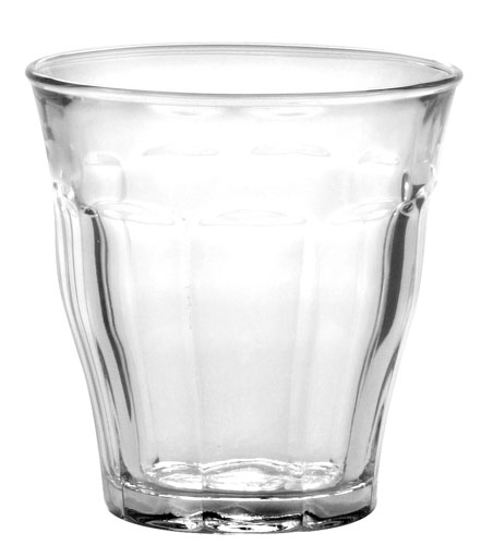 Vintage glassware comes in more than a dozen shapes and