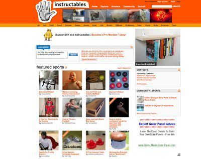 Weekly Most Viewed Diy Sports Instructables The Independent