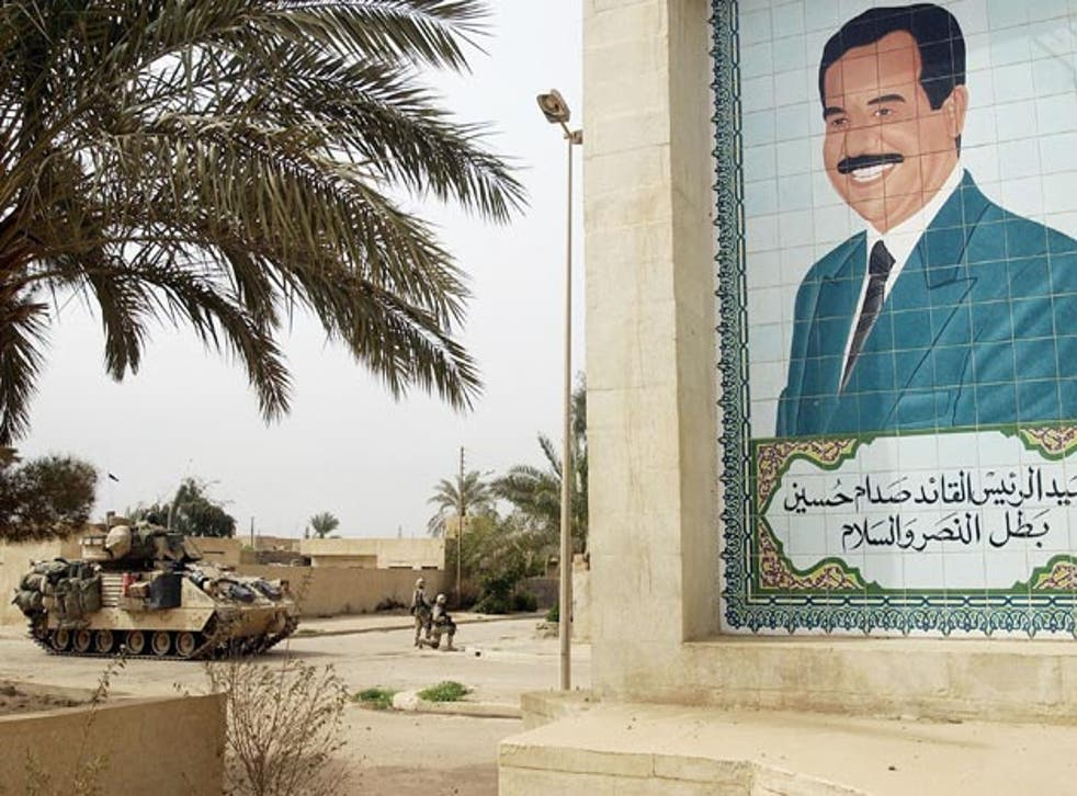 Saddam Hussein's Ba'ath party was banned after the 2003 US invasion and members banned from public office and education, removing thousands of people from their jobs