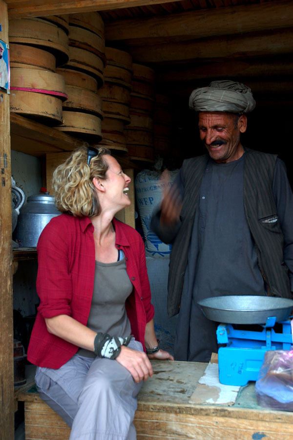 War and peace: Kate Humble treks into Afghanistan | The Independent