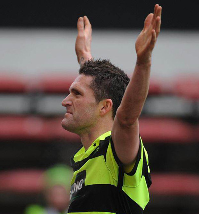 Keane only joined Celtic in January