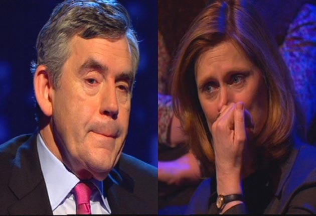That Gordon Brown was utterly sincere in not-quite-crying about his daughter's death is not in question. Yet plainly he agreed in advance to answer Piers Morgan's question, and may well have been coached by his lachrymal pit canary Alastair Campbell.