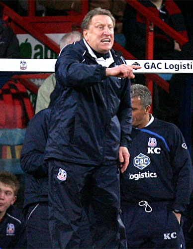 Crystal Palace confirm Warnock departure | The Independent