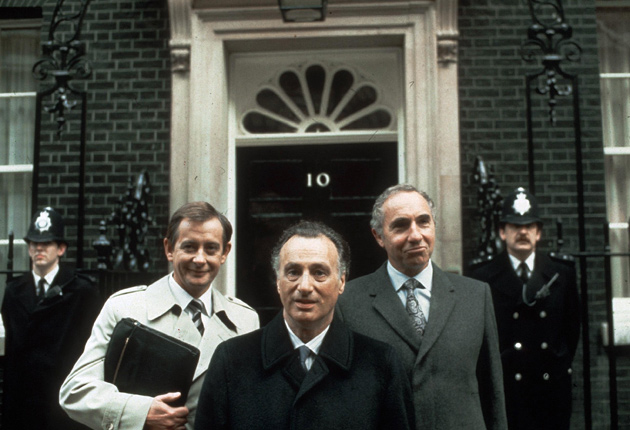 Sir Humphrey Appleby Pictured Right
