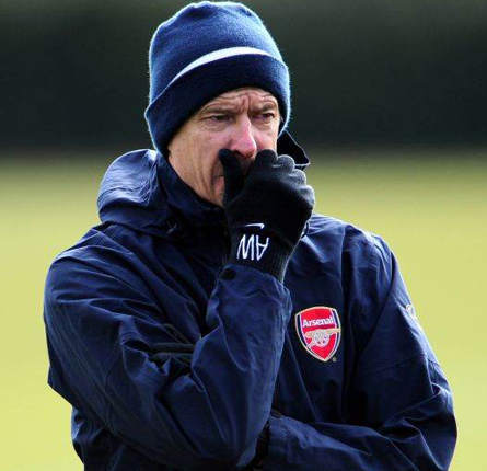 Wenger is sure his side will be in the mix until the end
