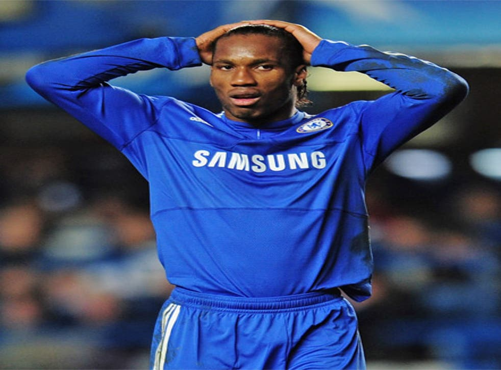 Drogba is joined by Obama on the list