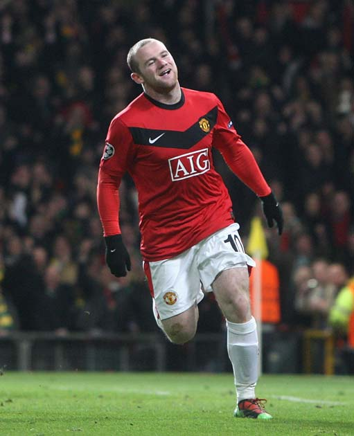 Rooney uses the bag for excess anger