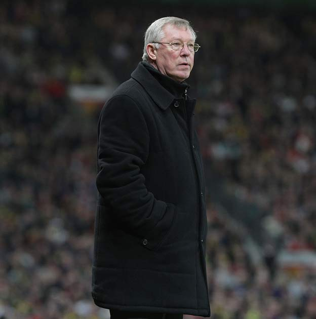 """<b><i> """"The young boy showed a bit of inexperience but they got him sent off, everyone sprinted towards the referee - typical Germans.""""</i></b><br/>   - Sir Alex on Rafael's sending off against Bayern Munich as United crashed out of the Champions League i"""