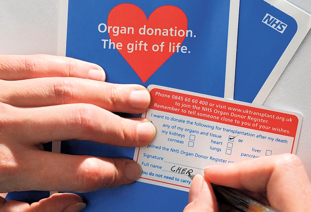 The NHS is considering a broad range of reforms that could see registered organ donors receive higher priority on transplant waiting lists and prevent families from overriding their consent after their death.