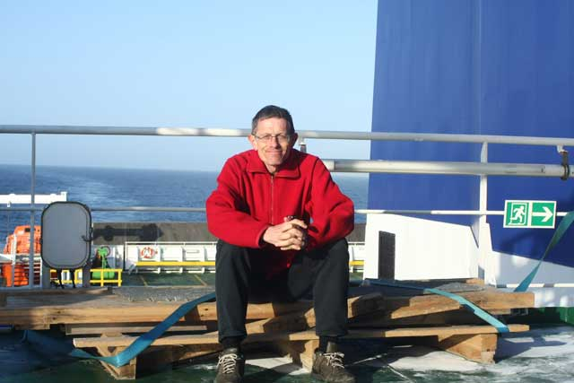 2010: he flewto Norway as a passenger on SAS but due to the volcanic ash crisis returned as freight on a container ship