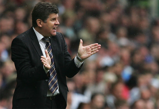 Brian Laws took over at Burnley after Owen Coyle left for Bolton