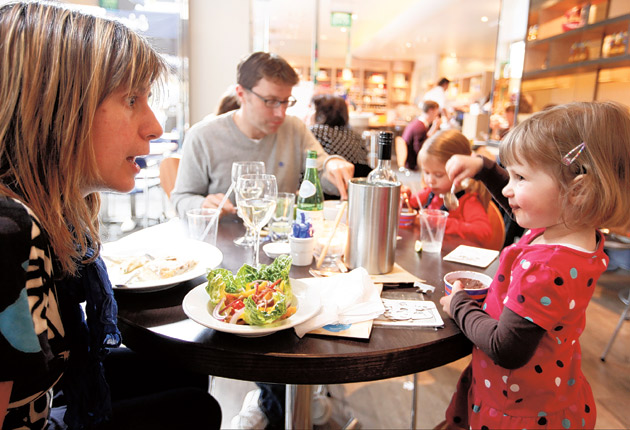 Carluccio's gives 100 per cent of tips to staff