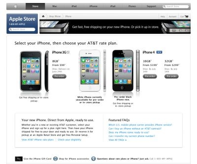 Weekly high-tech hot topics in the blogs: iPhone 4 pre-order