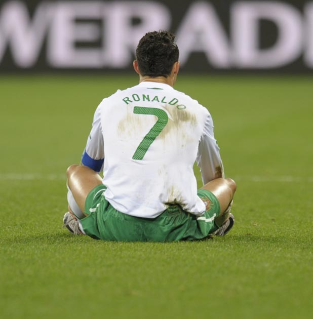 Ronaldo has a dissappointing World Cup