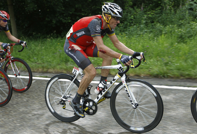 ecad69c8f Cycling  Armstrong fears carnage on first cobbled stage on Tour for six  years. Warning