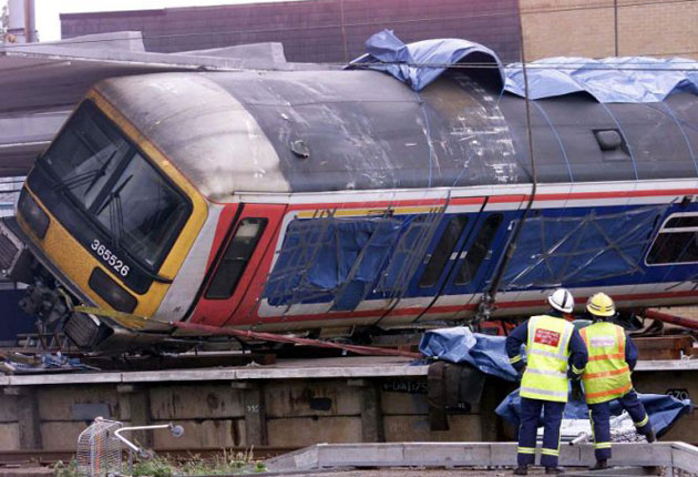 Rail infrastructure company Network Rail was fined £3 million today for safety failings over the 2002 Potters Bar train crash