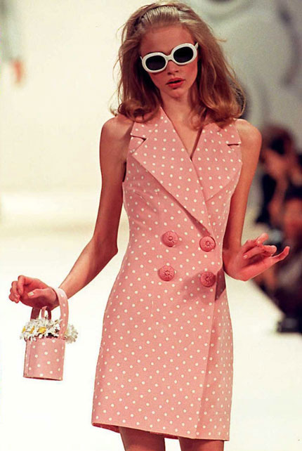 A Brief History Of London Fashion Week The Independent