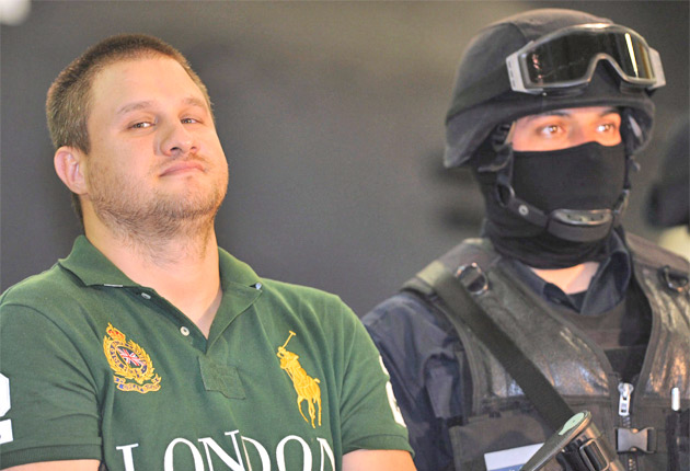 Mexican police capture drug cartel's most fearsome hitman