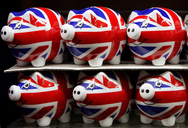 <p>The Bank of England base rate has been at a historically low level of 0.1 per cent for more than a year</p>