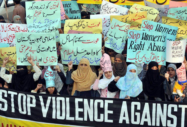 Pakistan's largest province passed a landmark law criminalising all forms of violence against women, but more than 30 religious groups have threatened to launch protests if the law is not repealed