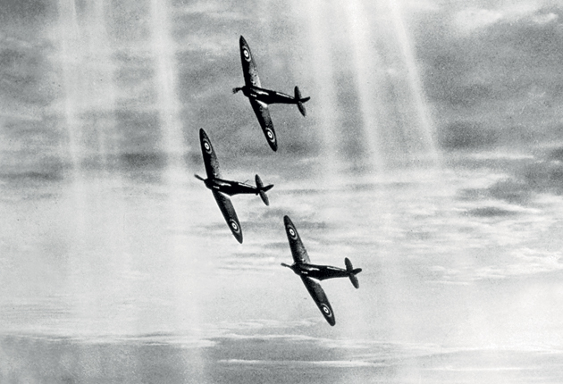 <p>The plane that saved the day in the Battle of Britain was... a different one </p>