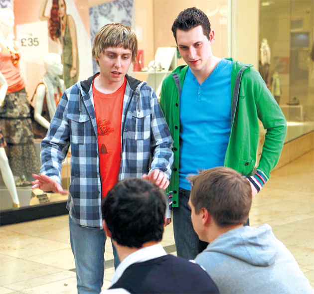 inbetweeners season 3 fashion show