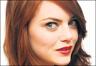 Emma Stone Scarlet Letter.Emma Stone Spider Man S New Girl The Independent