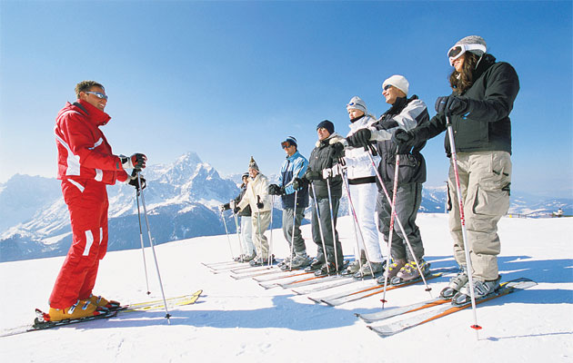 How To Be A Ski Instructor Welcome To My Office The Independent