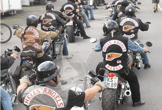 Europe's biker gangs set on a collision course with the