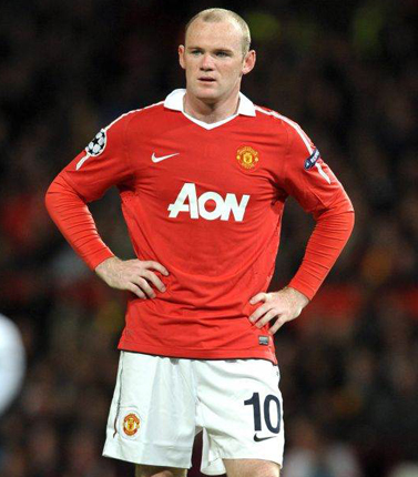 Rooney was refusing to sign a new contract