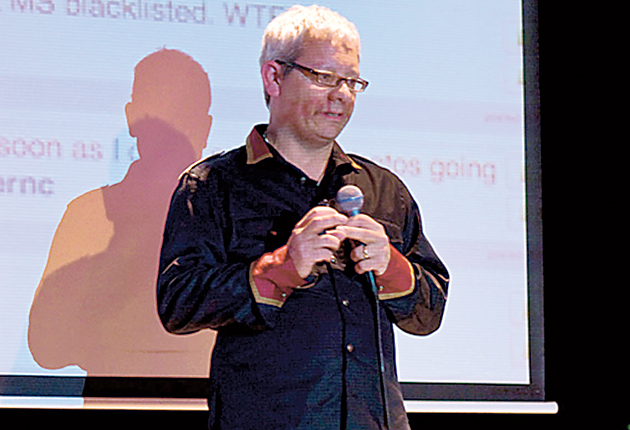 Vincent Connare created the font in 1994