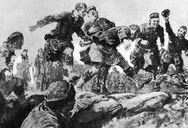 Christmas Truce Of 1914.The 1914 Christmas Truce A Plum Pudding Policy Which Might