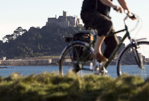Poetry in motion. Or Cornwall on two wheels | The Independent