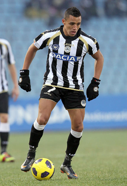 Alexis Sanchez is the latest of a long line of sought-after players to have made their name in Udine