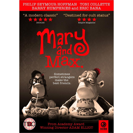 Dvd Mary Max For Rental Retail Soda Pictures The Independent