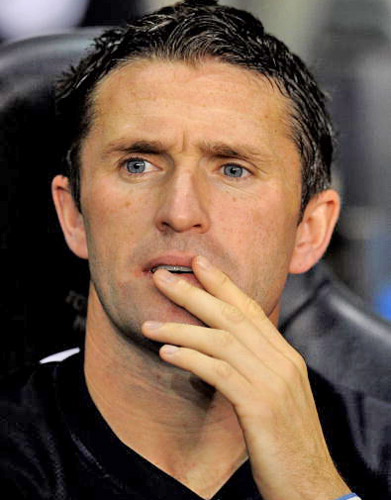 Robbie Keane has been sidelined with a thigh injury