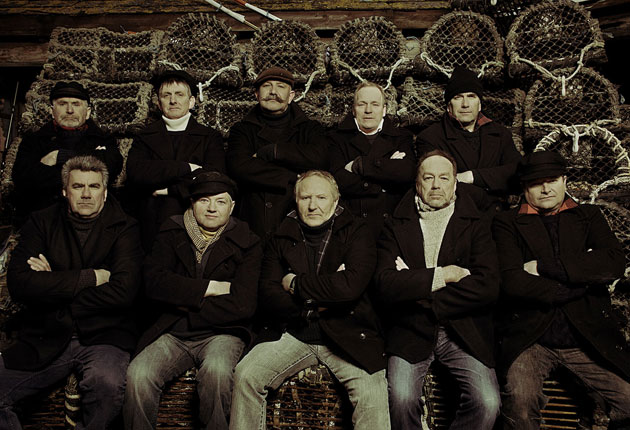 The Fisherman S Friends Dedicate New Album One And All To Tenor Trevor Grills Who Died In Freak Accident The Independent The Independent