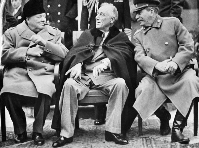 Image result for big three yalta